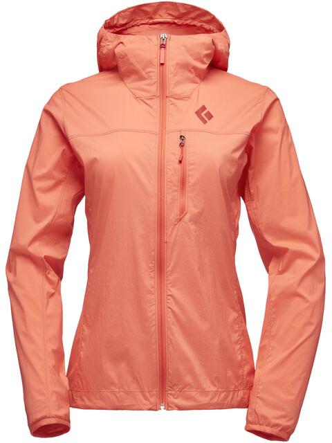 Black Diamond Alpine Start Hoody Jacket Women papaya
